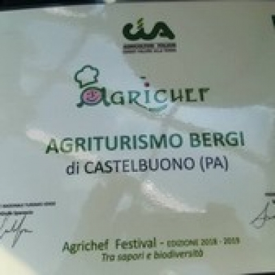 L'Agriturismo Bergi vince lo Show Cooking di Agrichef
