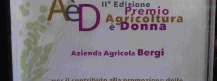 Premio Agricoltura è Donna