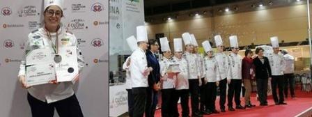 Medaglia d'argento ai Campionati di cucina Italiana per la nostra Chef Antonella